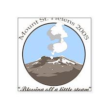 Mt Saint Helens 2005 Square Sticker