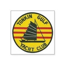 Tonkin Gulf Yacht Club Square Sticker