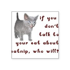 CATNIP Square Sticker