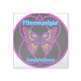 Butterfly Hope-a-gram Square Sticker