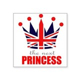 Next Princess Square Sticker