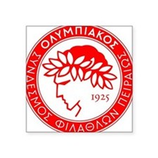 Olympiakos Square Sticker