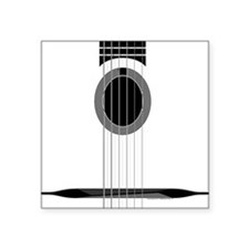Selmer Guitar Square Sticker