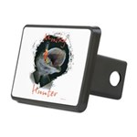 Muskie hunter Rectangular Hitch Cover