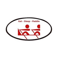 Eat - Sleep - Paddle Patches