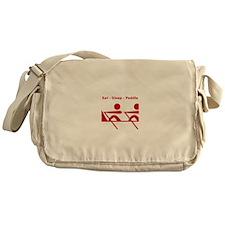 Eat - Sleep - Paddle Messenger Bag