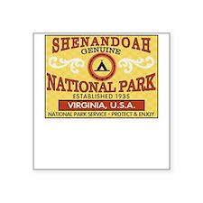 Shenandoah National Park Square Sticker
