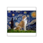 Starry - Akita3 Square Sticker 3