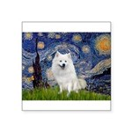 Starry-Am. Eskimo Dog Square Sticker 3