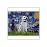 Starry-AnatolianShep1 Square Sticker 3
