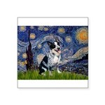 Starry-AussieCattlePup2 Square Sticker 3