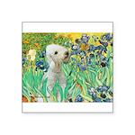Irises /Bedlington T Square Sticker 3