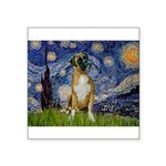 Starry / Boxer Square Sticker 3