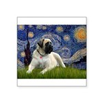 Starry / Bullmastiff Square Sticker 3