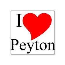 Peyton Square Sticker