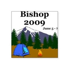 Bishop Trip 2009 Square Sticker
