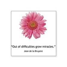 Miracles Square Sticker