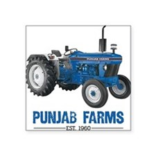 Punjab Farms Square Sticker