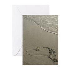 Love on the Beach 5x7 Greeting (Pk of 10)