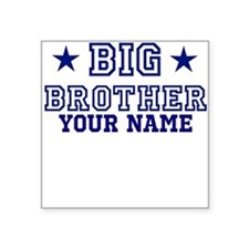 Big Brother Sport Personalize Square Sticker