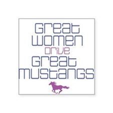 Great Women II Square Sticker