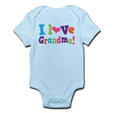 I Love Grandma Infant Bodysuit