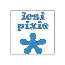 Icsi Pixie Baby Creeper Square Sticker