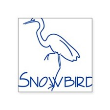 Simple Snowbird Square Sticker