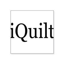iQuilt Square Sticker