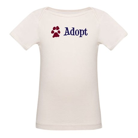 Adopt (With Paws) Organic Baby T-Shirt