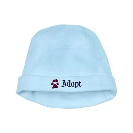 Adopt (With Paws) baby hat