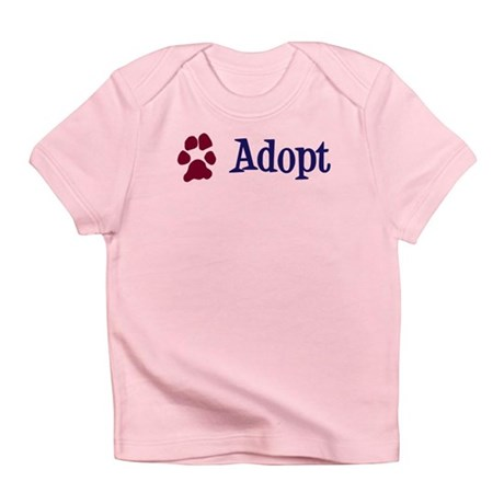 Adopt (With Paws) Infant T-Shirt