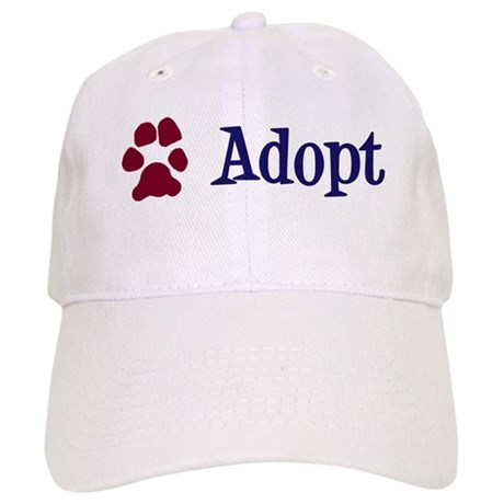 Adopt (With Paws) Cap