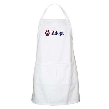 Adopt (With Paws) Apron
