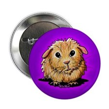 "Golden Guinea Pig 2.25"" Button (100 pack)"