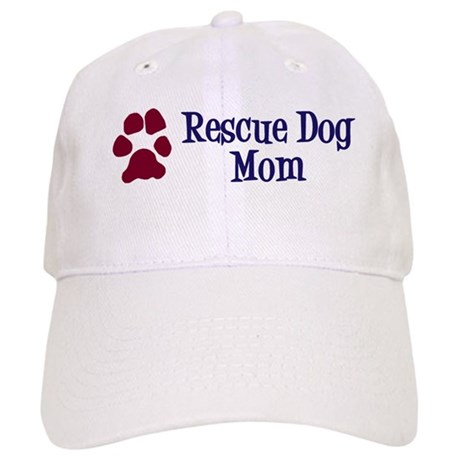 Rescue Dog Mom Cap