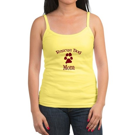 Rescue Dog Mom Jr. Spaghetti Tank