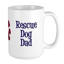 Rescue Dog Dad Mug
