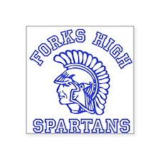 Forks High Spartans - Twilight Square Sticker