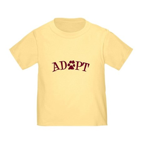 Adopt (With Paws) Toddler T-Shirt