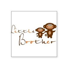 Little Brother Square Sticker