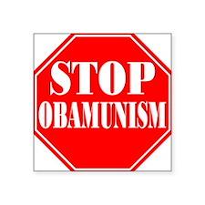 Stop Obamunism Square Sticker