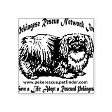 PRNI Pekingese Rescue Square Sticker