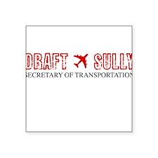 Draft Sully Square Sticker