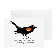 blackbird thank you Greeting Card