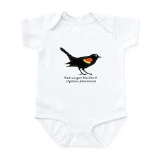 red-winged blackbird Infant Bodysuit