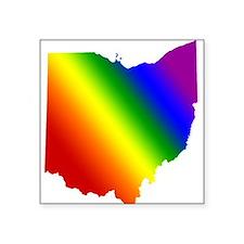 Ohio Gay Pride Square Sticker