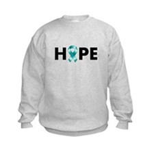 Teal Ribbon Hope Sweatshirt