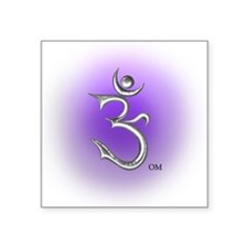 Om Symbol Square Sticker