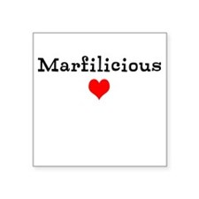 Marfilicious Square Sticker